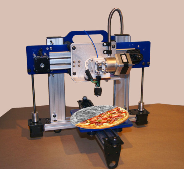 3d Printer Pizza