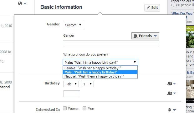A Comprehensive Guide to Facebook's New Options for Gender Identity