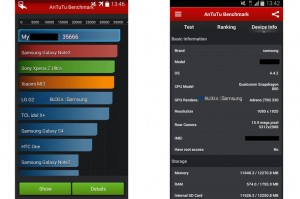 Samsung Galaxy S5 Benchmarks Leaked Showing Spec Improvements
