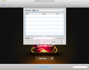 Noteburner M4V Converter Plus Mac App