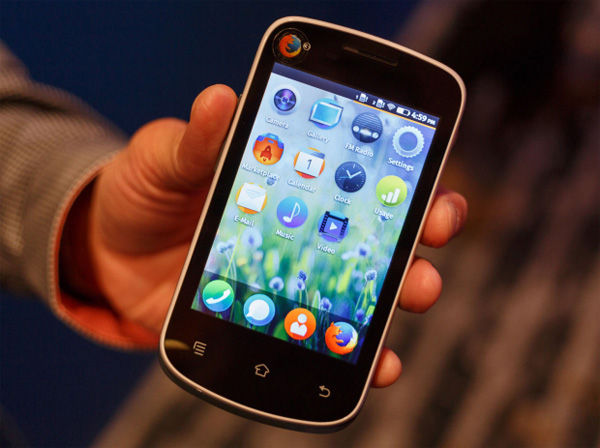 Mozilla Firefox Smartphone