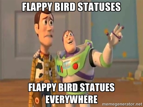 Flappy Bird status