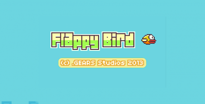 flappy-bird iphone app title screen