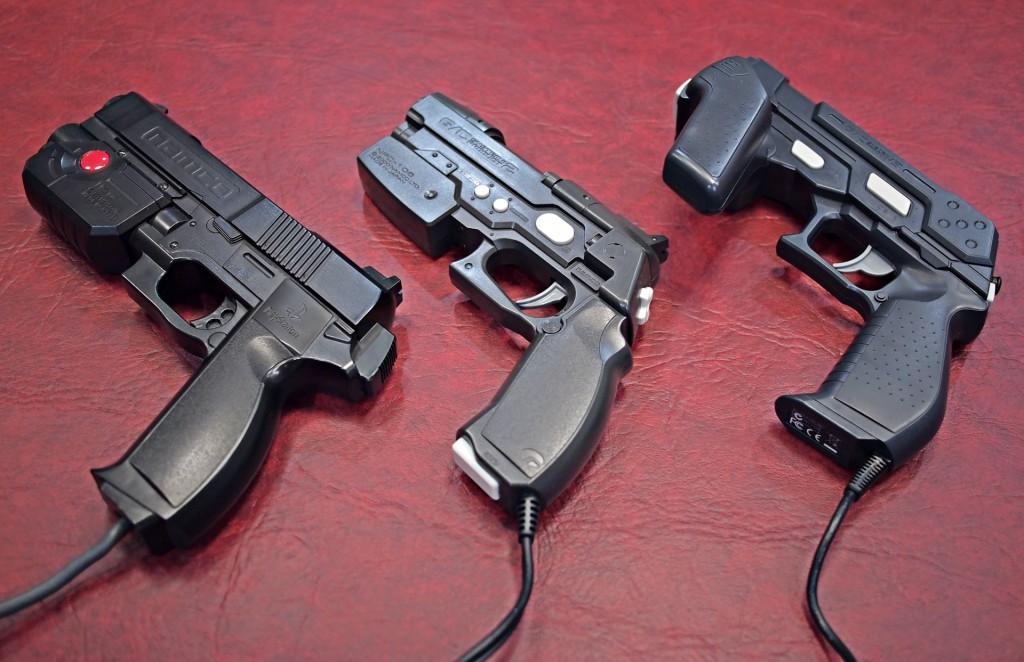 Guncon Light Gun controllers