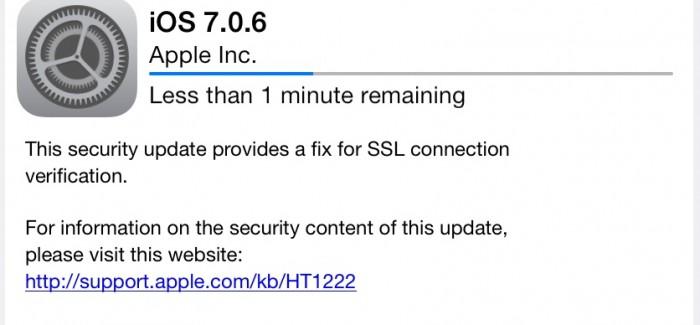 iOS Updates: New in iOS 7.0.6, iOS 6.1.6