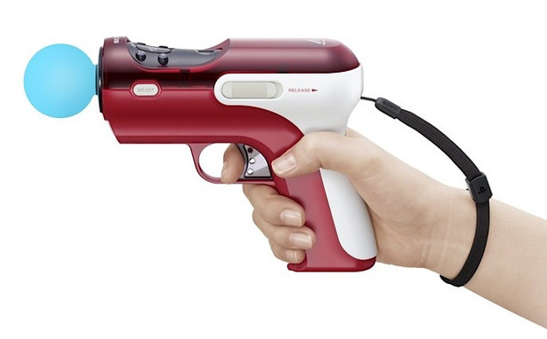 PS3 Move Gun, a Light Gun alternative.