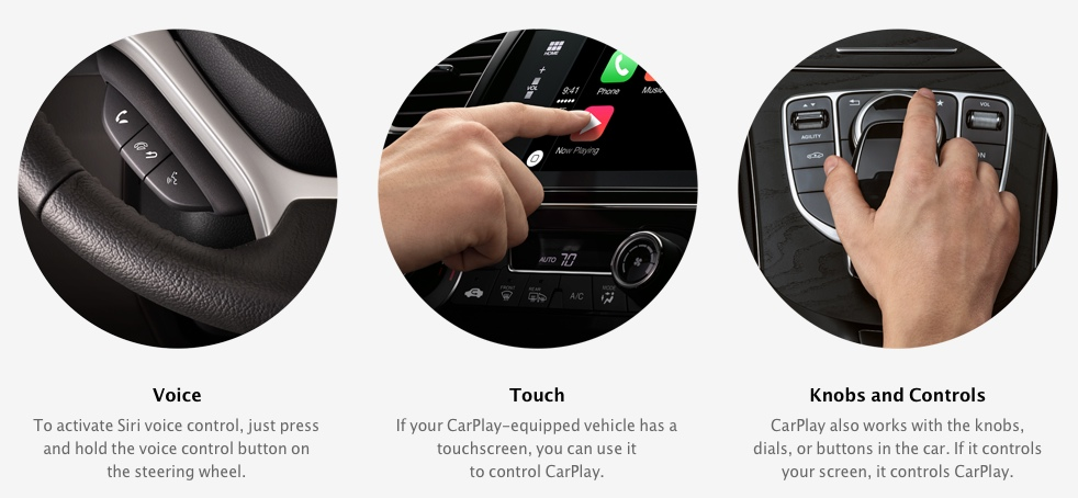 carplay controls What Is CarPlay? Apple Partners with Mercedes, Volvo, Ferrari…