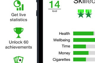Kwit - iPhone quit smoking app