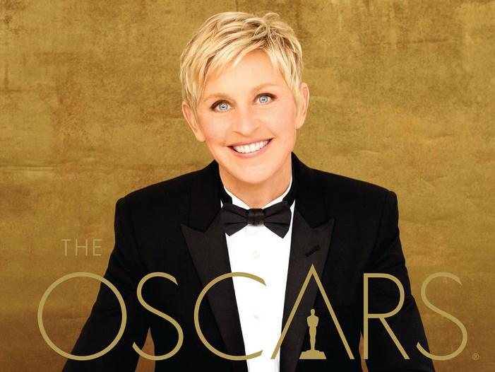 2014 Academy Award host, Ellen Degeneres. (Credit: oscar.go.com)