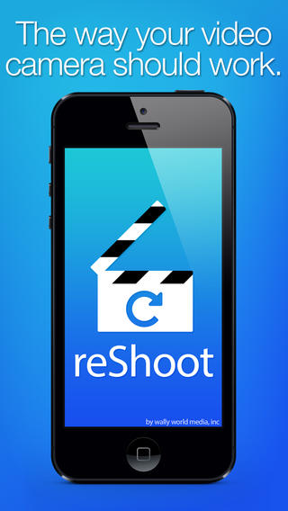 reShoot iphone video camera app