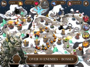 Brave Guardians HD iPad Game
