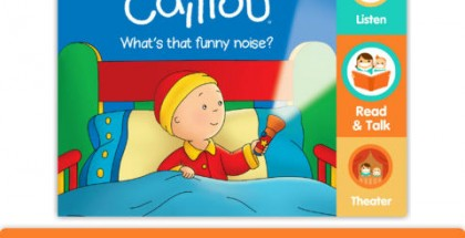 Caillou: What's That Funny Noise? iPad App