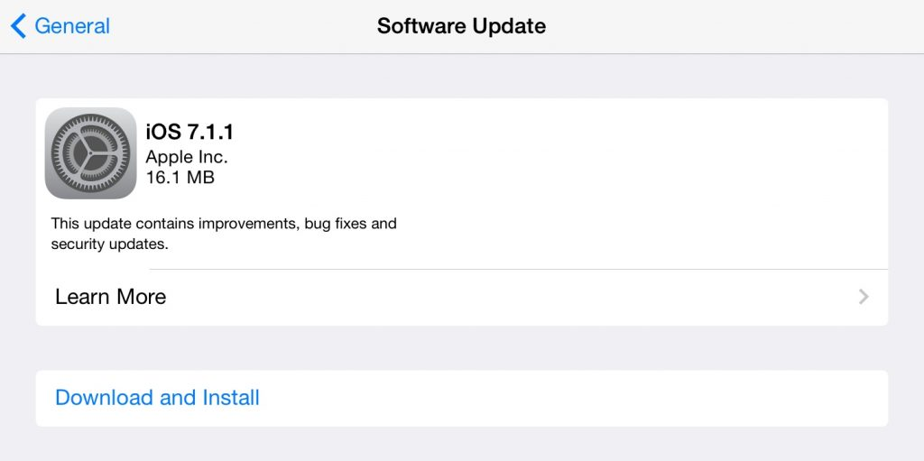 Still having trouble with TouchID? iOS keyboard issues? Then by all means fire up your compatible iPhone, iPod touch and/or iPad to download iOS 7.1.1