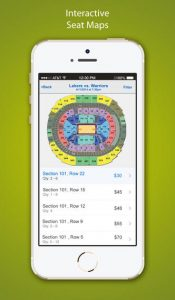 Razorgator eTickets iPhone App