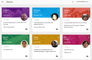 Google Makes Push For Education With 'Classroom'