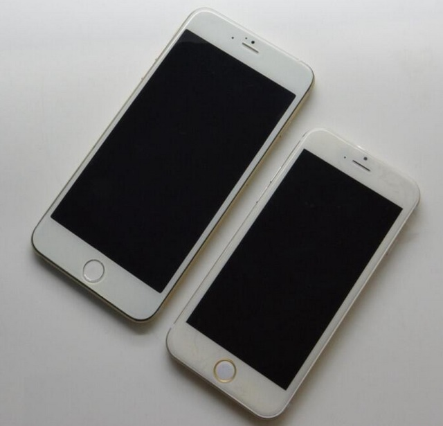 Apple's 2014 smartphones aren't due until September or October, yet there are fresh iPhone 6 pics confirm two configs, as well as other tasty details.