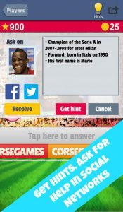 2014 Soccer Trivia iPhone Game