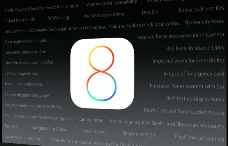 iOS 8 Beta 3 Arrives with iCloud, Handoff, etc Improvements