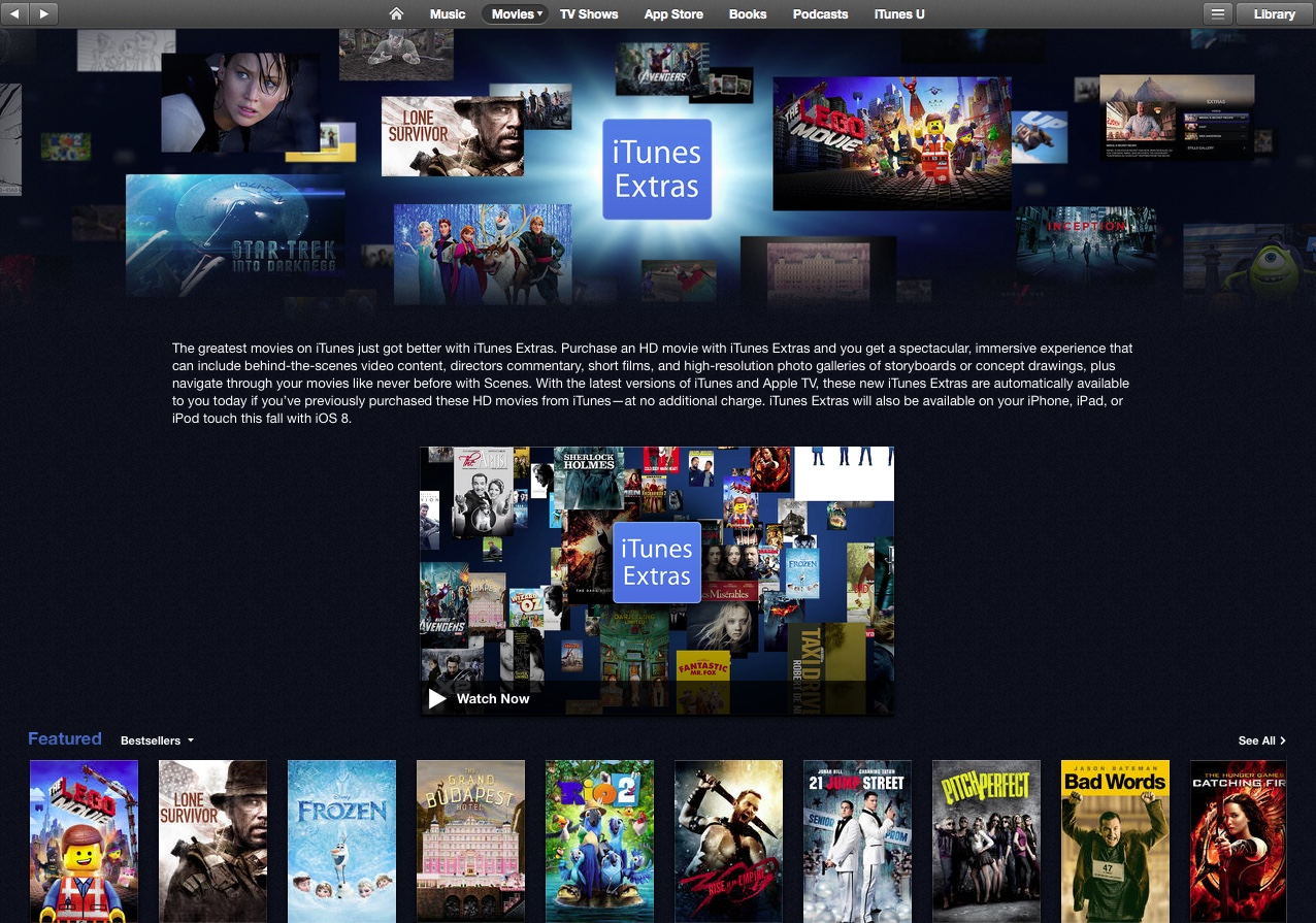 how to watch movies on itunes without downloading