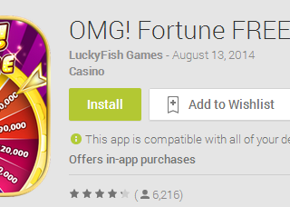 OMG! Fortune FREE Slots Android App Review