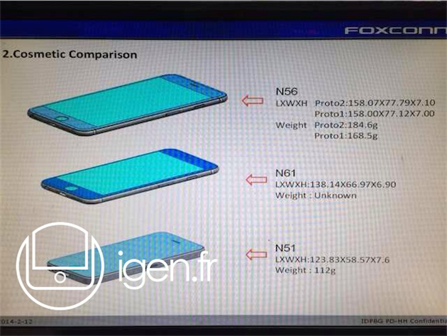 Faster and furious(-er). Take for example, a trio of iPhone 6 leak images, supposedly sourced from Apple manufacturing partner Foxconn.