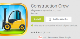 Construction Crew Android App Review