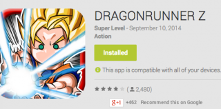 DRAGONRUNNER Z Android App Review