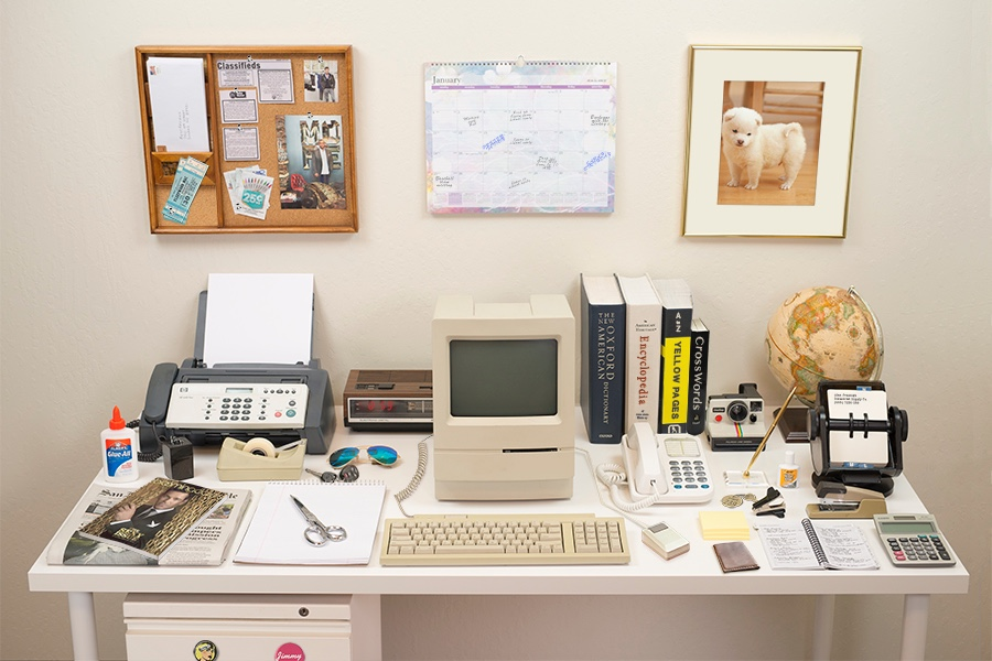 Remember the Rolodex? How about the fax? Just two examples of tech that has been replaced by the modern PC or Mac desktop computer since the magical '80s