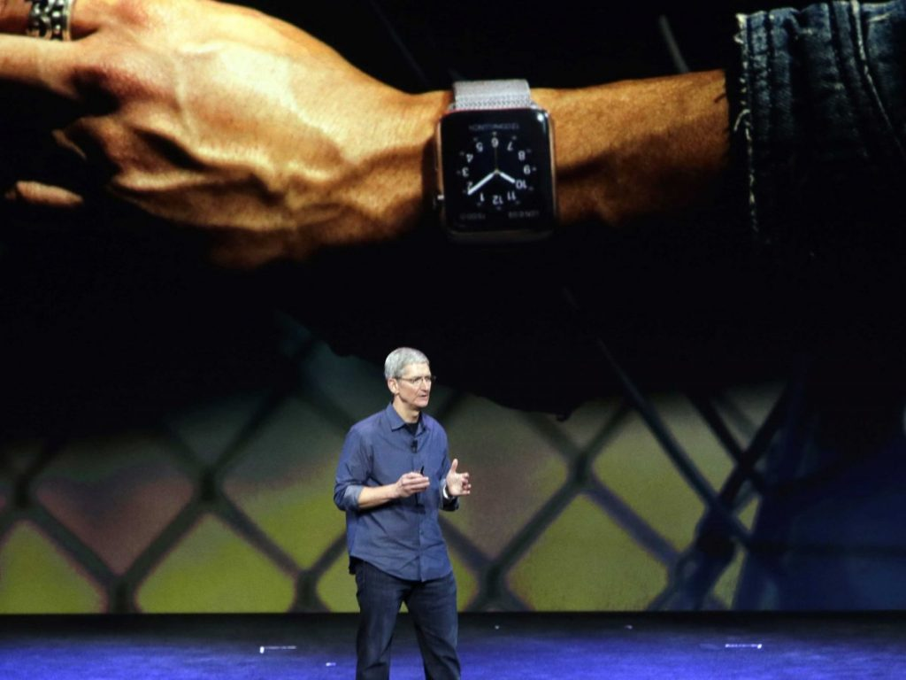 Tim Cook said Apple Pay and Apple Watch would go live in October and early 2015, respectively. Now we have a date for one and clue about the other