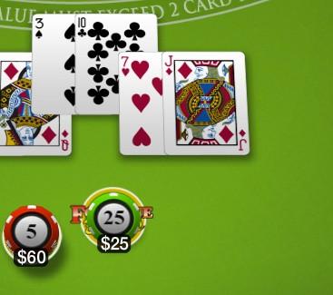 double down casino blank screen