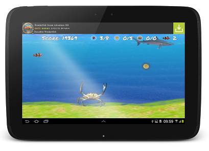 Wonder Fish HD Free Games