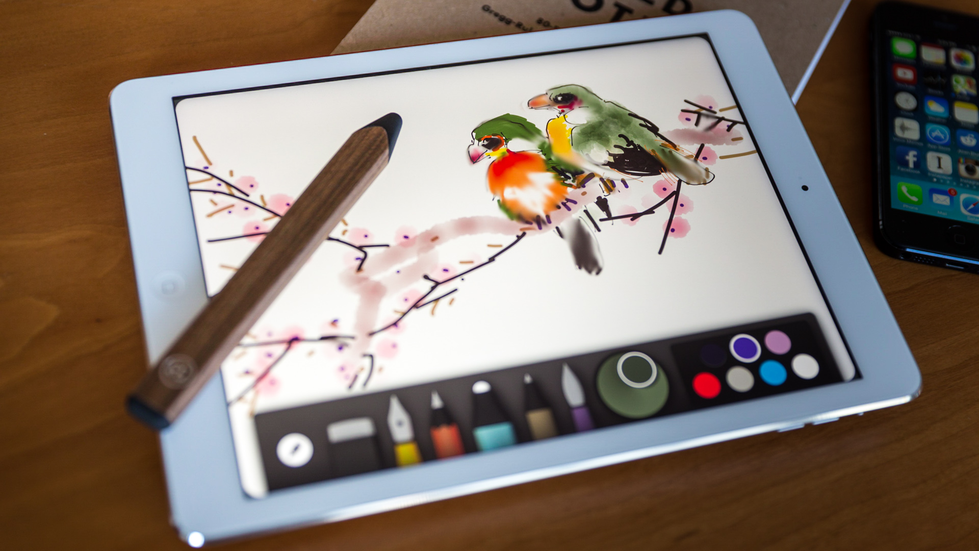 best stylus for ipad air writing apps