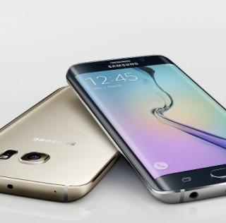 Samsung Galaxy S6 Edge curves on both edges