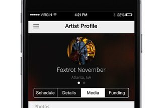 ShowSlinger iOS app