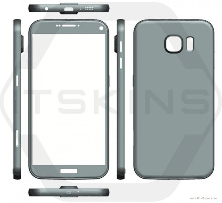 Samsung Galaxy S7 renders 1