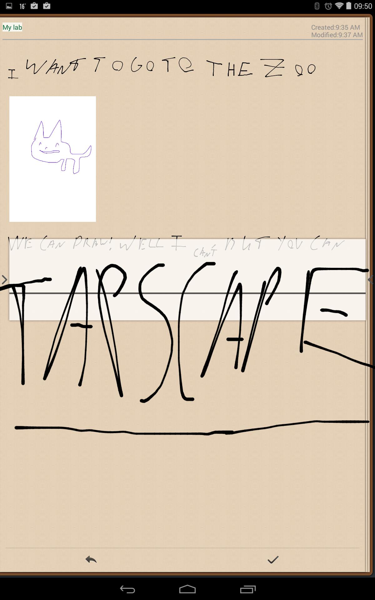 Handrite - Tapscape