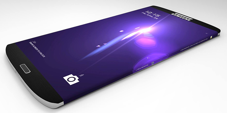 The leaked concept design of the Galaxy S7.