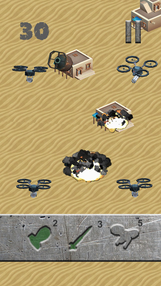 Bunker Buster iPhone game