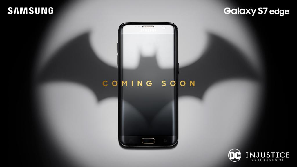 Galaxy S7 edge Injustice Gods Among Us version inbound for comic book fans