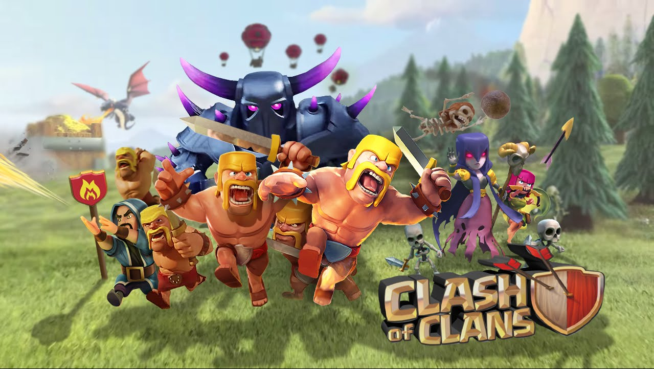 Clash of Clans Smartphone App
