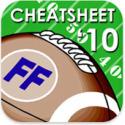Gather the Guys Around the iPad for Fantasy Football Cheatsheet '10