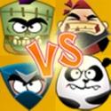 Pirates vs. Ninjas vs. Zombies vs. Pandas Puzzle Wars