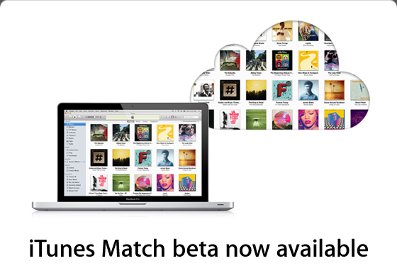 "New Cloud Music Service ""iTunes Match"" Goes Beta"