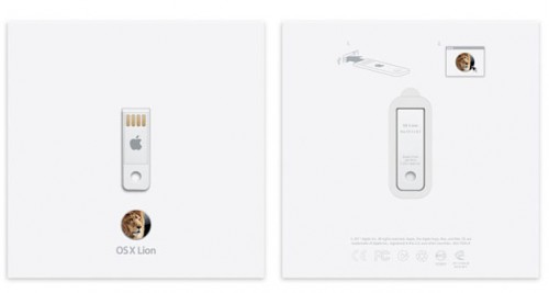 Apple Now Selling OS X Lion USB Thumb Drive for $69