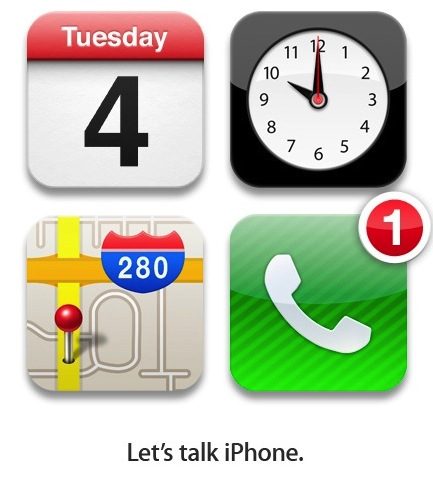 Apple's iPhone Media Event Invitation