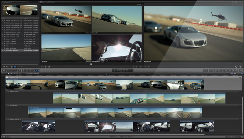 Final Cut Pro X Gets Free Update, Now With Multicam Editing