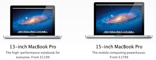 New Slim 13 and 15-inch MacBook Pro in Production