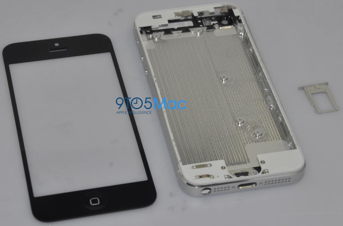 Reported iPhone 5 Front Casing