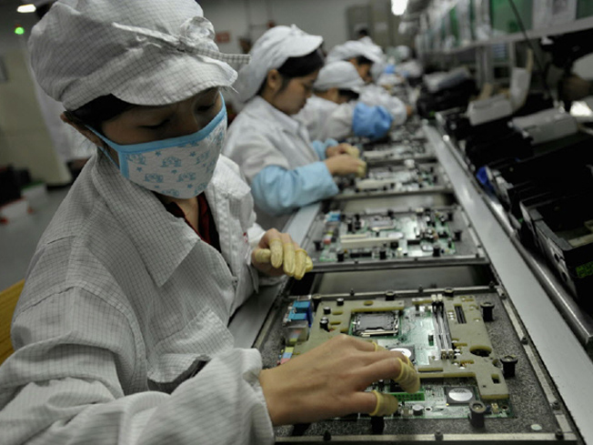 iPhone 5 manufacturing