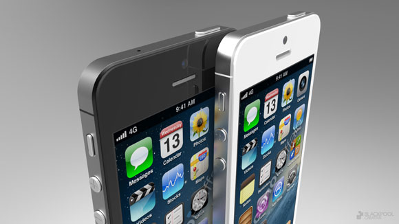 iPhone 5 rendering based on current rumors